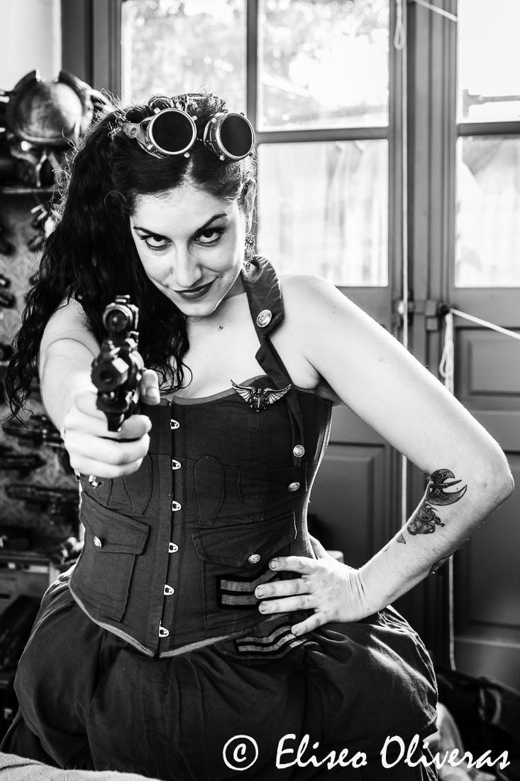 Steampunk heroine