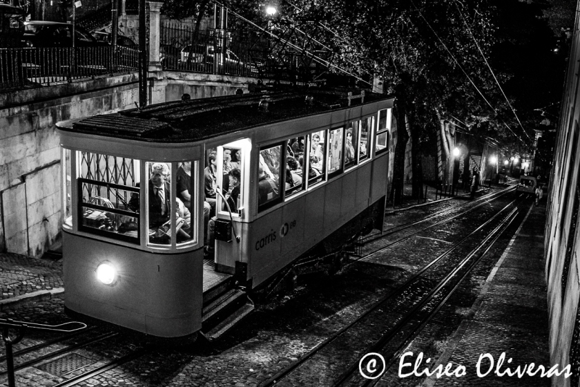 Night Tram in Lisbon-2007